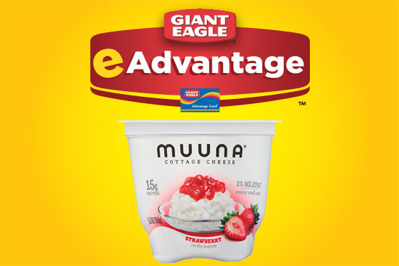 Muuna Cottage Cheese - free with eAdvantage