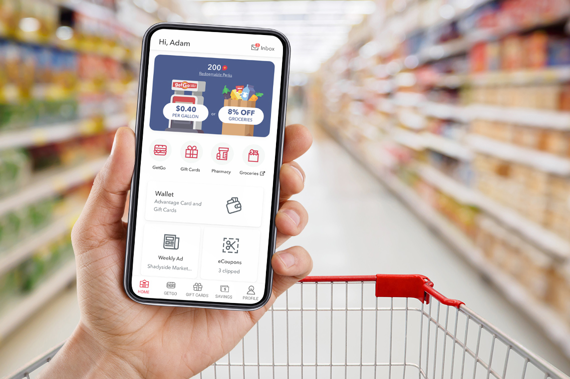 Giant Eagle Mobile Perks App