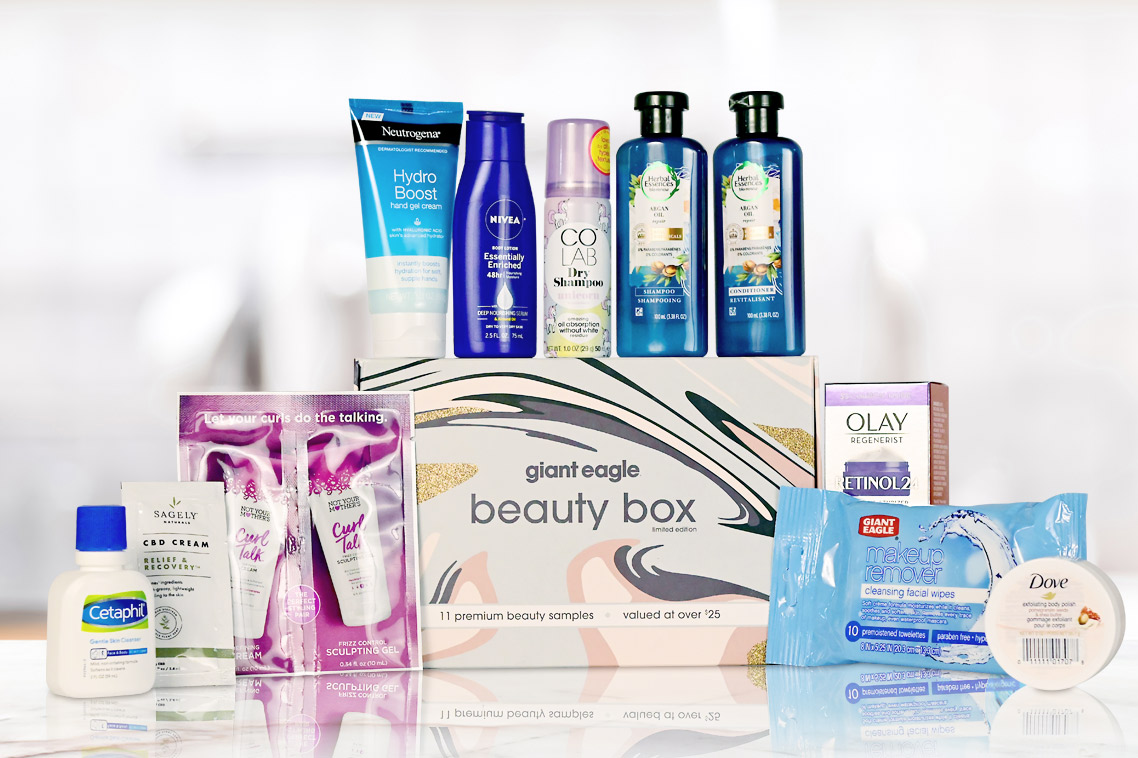 Giant Eagle Fall 2020 Beauty Box