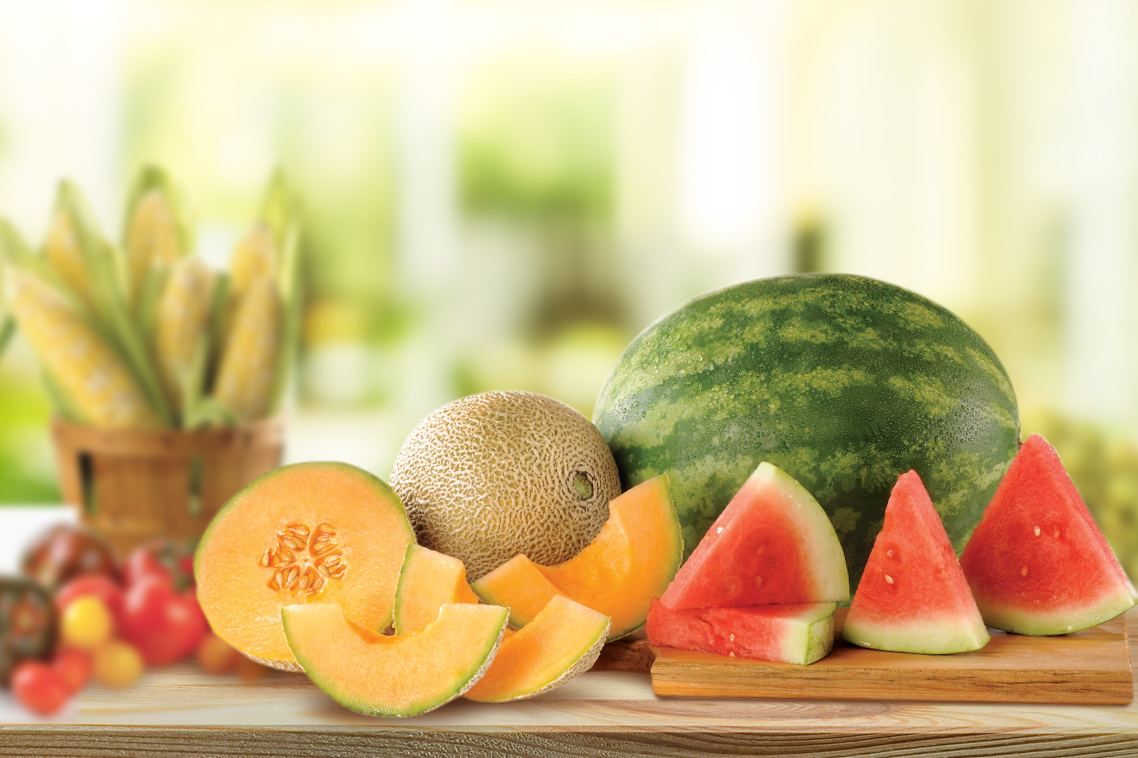 Produce Fresh Melons
